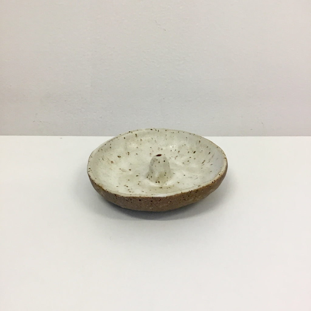 NZ Pottery Incense Holder - Sand