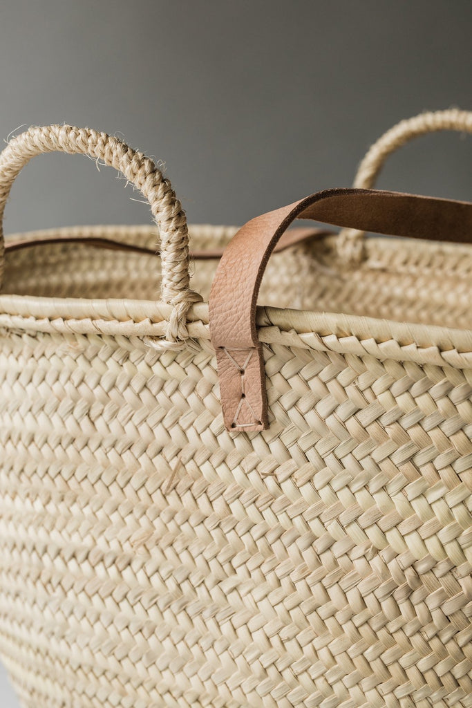 Double Handle Weaved Bag