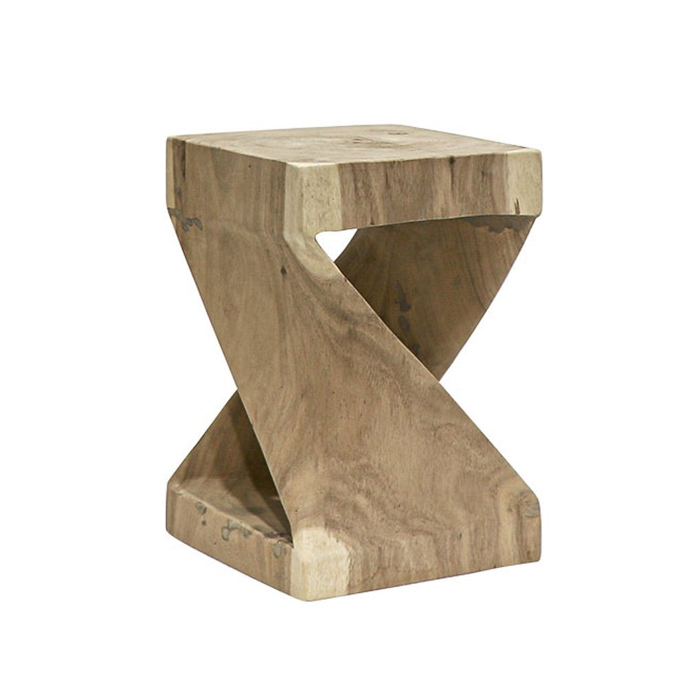 Suar Ulir Twist Side Table