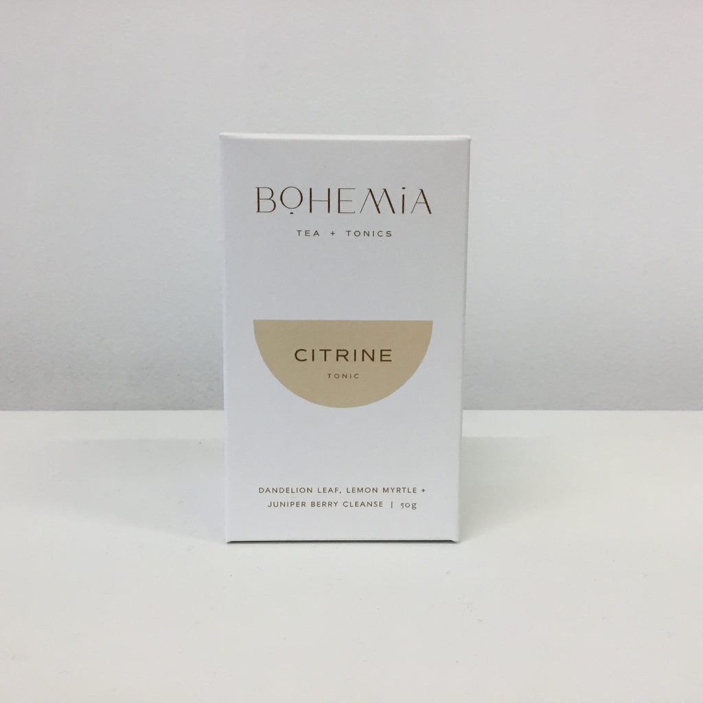 Bohemia Tea - Citrine Tonic