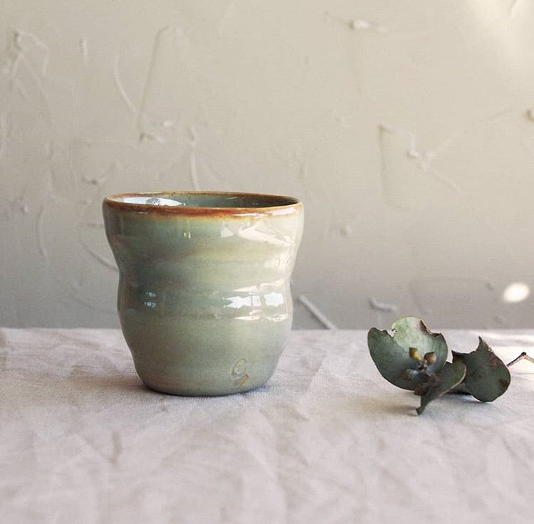 Goodwin Ceramics- Green Tumbler