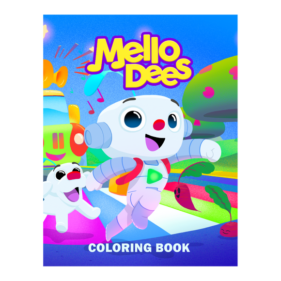 Mellodees Coloring Book