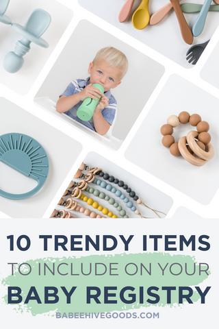 Top Baby Products to Include on Your Baby Registry