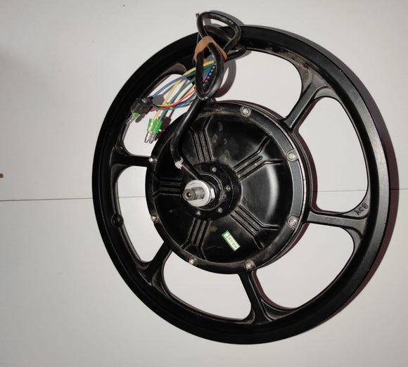 Motor set with rim a1f