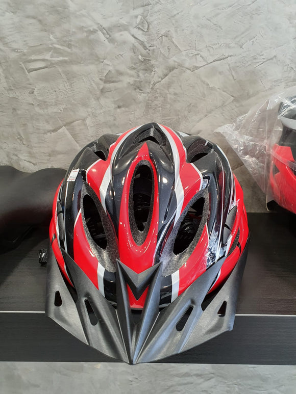 Helmet for safety red