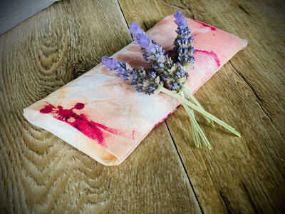 Eye pillows - organic Lavender and Linseed. Grown and created Locally Yoga bolsters and Floor Cushions - Assassinsdesigns aquarelle