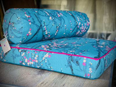 Eye pillows - organic Lavender and Linseed. Grown and created Locally Yoga bolsters and Floor Cushions - Assassinsdesigns cherry blossom