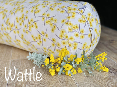 Eye pillows - organic Lavender and Linseed. Grown and created Locally Yoga bolsters and Floor Cushions - Assassinsdesigns wattle