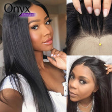 Load image into Gallery viewer, Peruvian Straight 360 Lace Front Wig - Human Remy (150% Density)