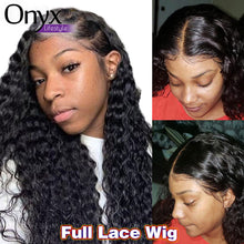 Load image into Gallery viewer, Brazilian Deep Wave Full Lace Wig - Human Remy Pre-Plucked
