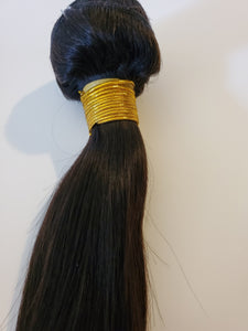 Brazilian Straight Single Bundle - Human Remy