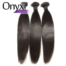 Load image into Gallery viewer, Brazilian Straight 1/3/4 Bundles - Human Remy 1B