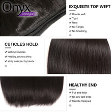 Load image into Gallery viewer, Brazilian Long Length Straight Bundles - Human Remy (Natural Color)