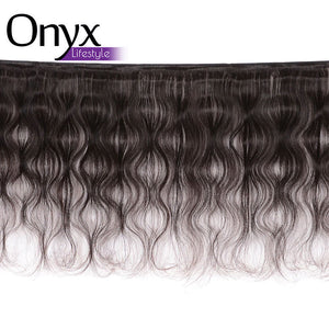 Brazilian Body Wave 3 Bundles Human Remy (Natural Color)