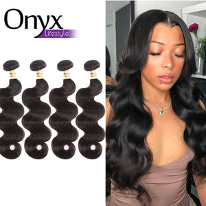 Peruvian Body Wave 4 Bundles Human Remy (Natural Color)