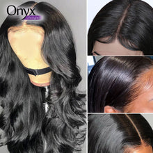 Load image into Gallery viewer, Brazilian Body Wave 4x4 Lace Front Wig - Human Remy Pre-Plucked w/Baby Hair (Natural Color)