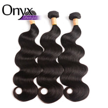 Load image into Gallery viewer, Peruvian Body Wave 3 Bundles w4x4 Closure - Human Remy (Natural Color) (Free Part)