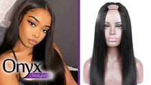 Load image into Gallery viewer, U Part Brazilian Straight Wig - Human Remy