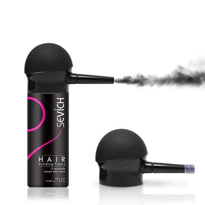 Keratin Hair Color Powder and Applicator Spray Pump For Concealing Front Lace and Thinning Hair