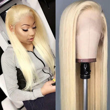 Load image into Gallery viewer, Peruvian Blonde* Straight Lace Front Wig - Human Remy (613)
