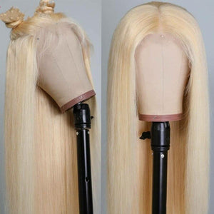 Peruvian Blonde* Straight Lace Front Wig - Human Remy (613)