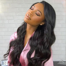 Load image into Gallery viewer, Brazilian Body Wave 13x4 Lace Front Wig - Human Remy Pre-Plucked (Natural)