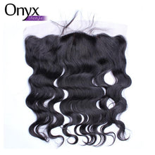 Load image into Gallery viewer, Silk Base Brazilian Body Wave 13x4 Frontal - Human Virgin Hair Pre-Plucked w/Baby Hair (Free Part)(Natural Color)