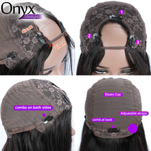 Load image into Gallery viewer, U Part Brazilian Body Wave Wig - Human Remy