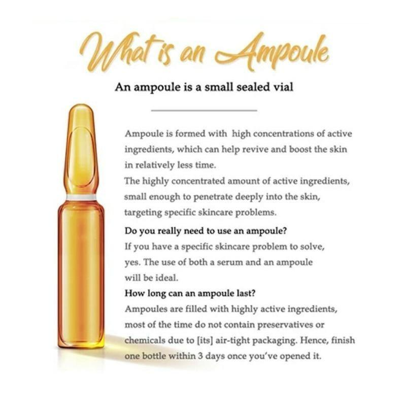 Whitening Spotless Ampoule Serum (Set of 7) Safe and Not Allergic, For Both Men and Women