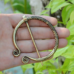 Viking Cloak Metal Pin