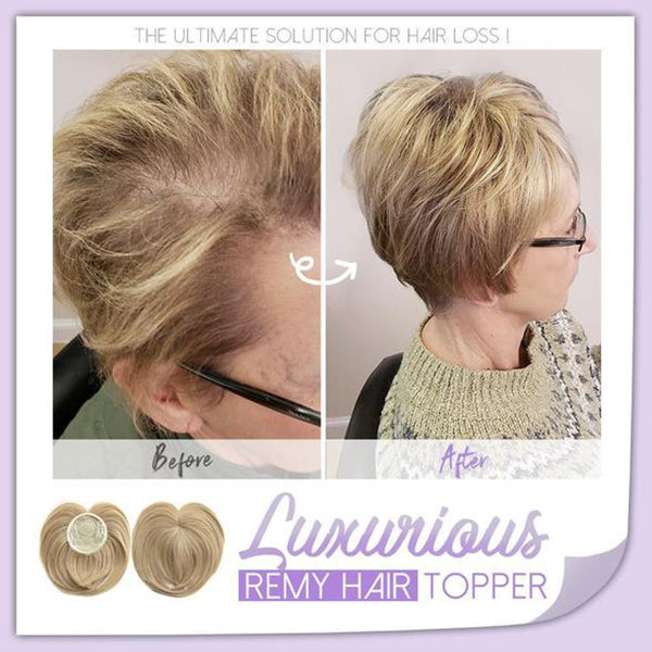 Luxurious Remy Hair Topper