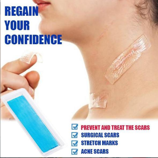 Be-Gone™ Stretch Marks and Scar Removal Silicone Sheets