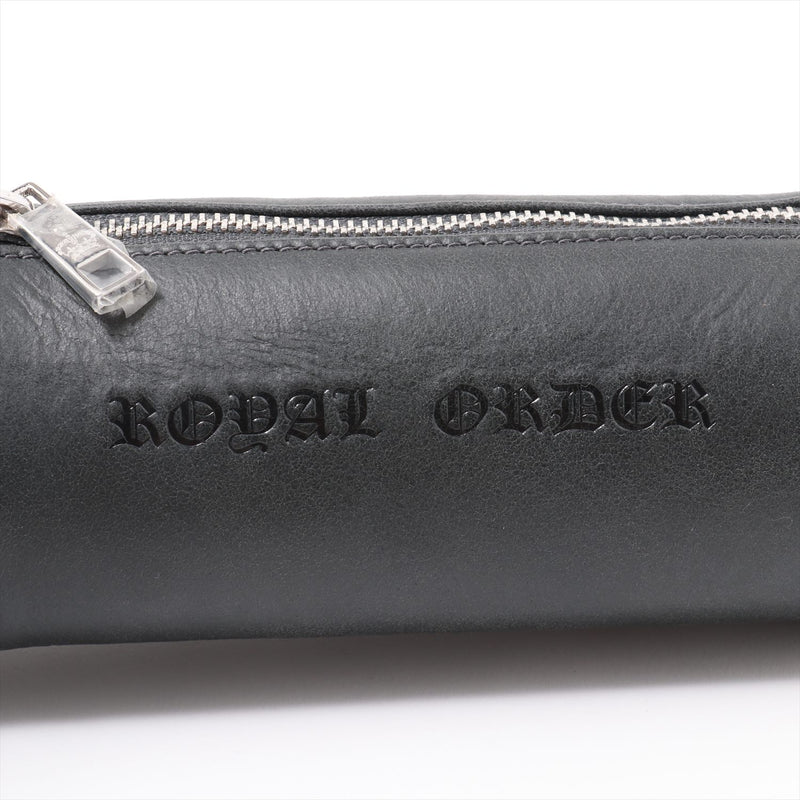 Royal Order Pouch Leather Cosmetic Pouch