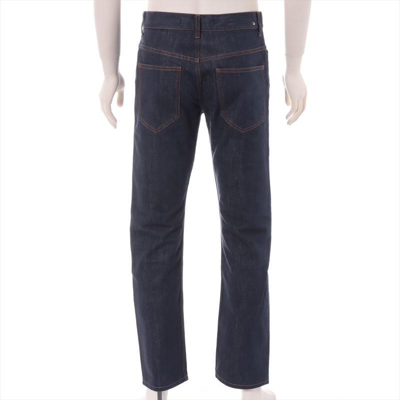 Valentino Cotton Denim Pants 29 Men's Navy