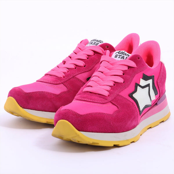 Atlantic Stars Suede Sneakers 37 Ladies Pink