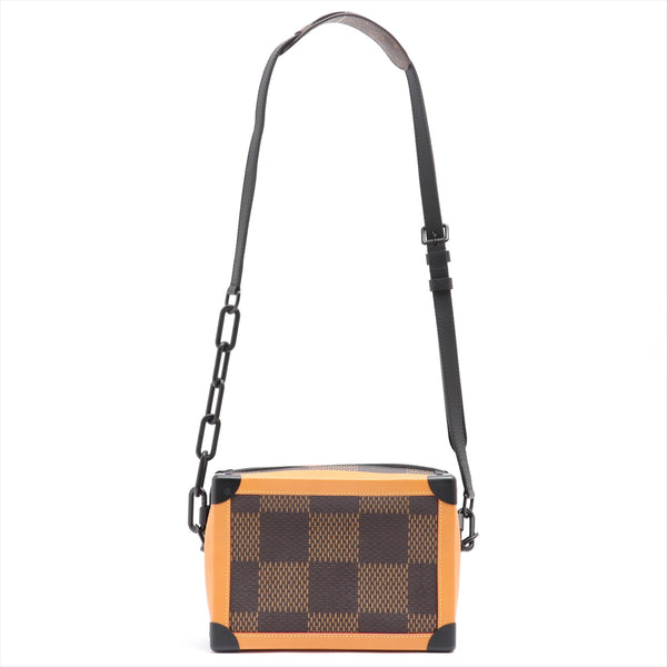 Louis Vuitton x NIGO Damier Giant Soft Trunk N40381 Brown AR1210