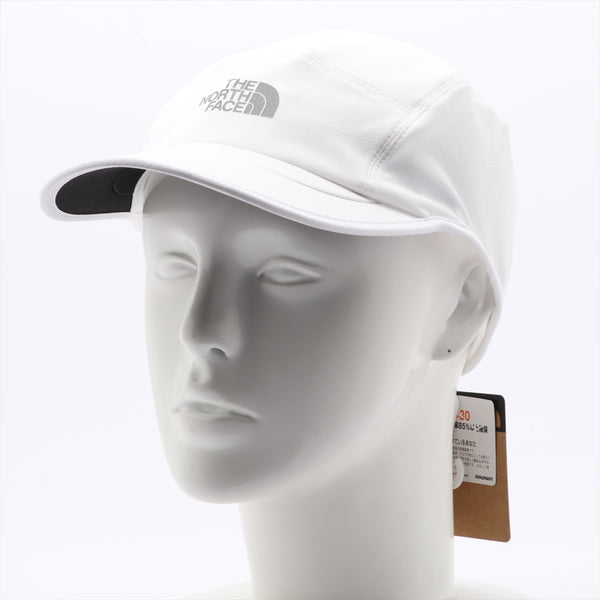 The North Face Running Cap Polyester White 2 Piece Set With Tag