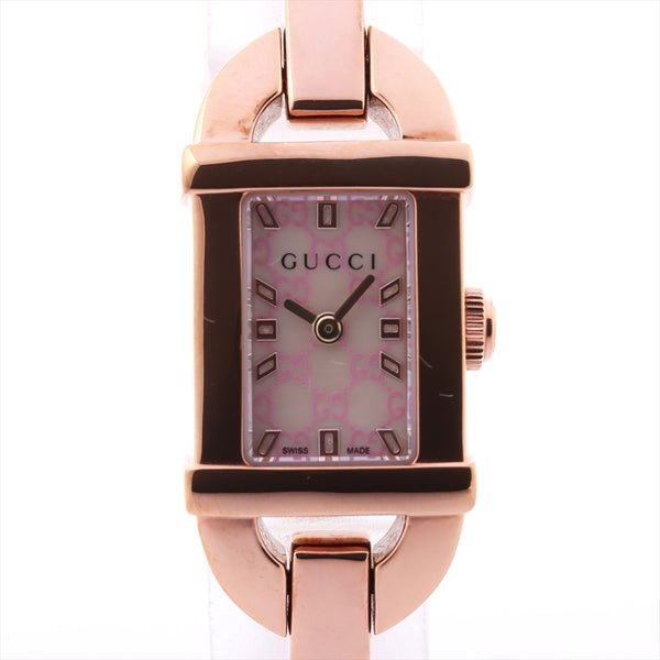 Gucci Bangle Watch 6800L Stainless Steel QZ Shell Dial