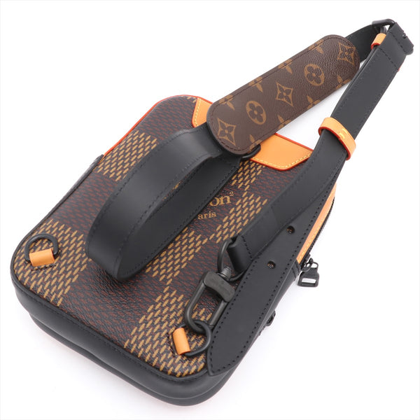 Louis Vuitton x NIGO Monogram Amazon Sling Bag N40379 Brown AR2260