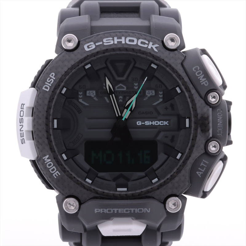Casio G-Shock Gravity Master ROYAL AIR FORCE Collaboration GR-B200RAF-8AJR Stainless Steelx Rubber Solar Powered Digital Dial