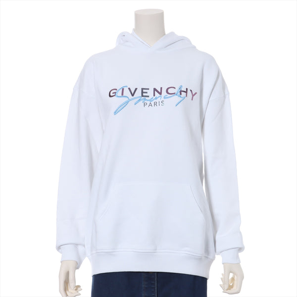 Givenchy 20AW Cotton Hoodie M Ladies White Logo