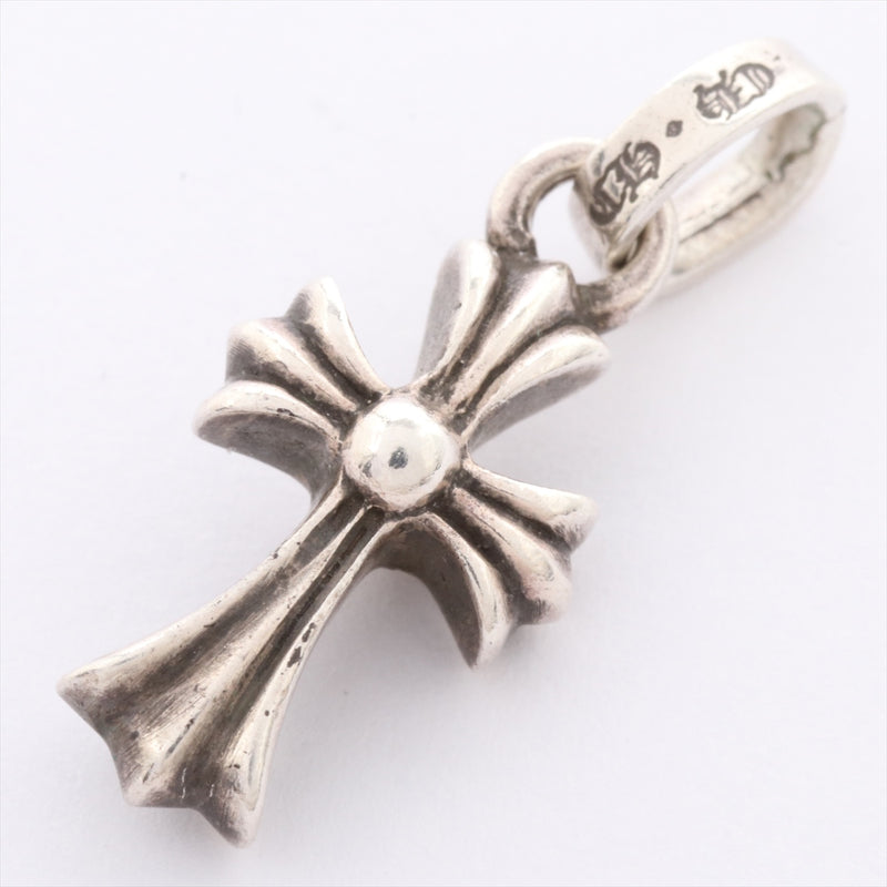 Chrome Hearts CH Cross Baby Fat Charm Pendant Charm 925 2.3g