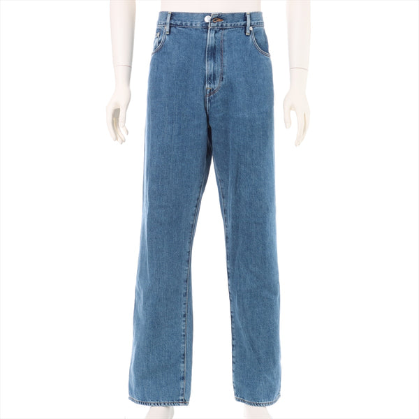 Burberry Cotton Denim Pants W32 L32 Men's Blue