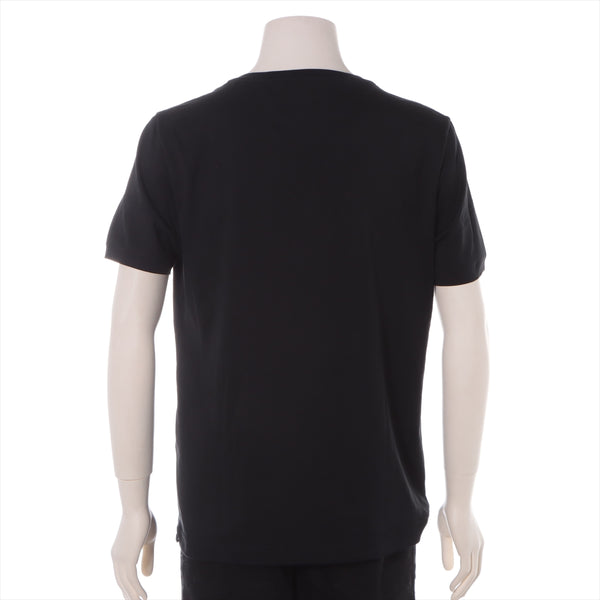 Fendi 17 Years Cotton T-shirt 50 Mens Black FACE|RANK:A