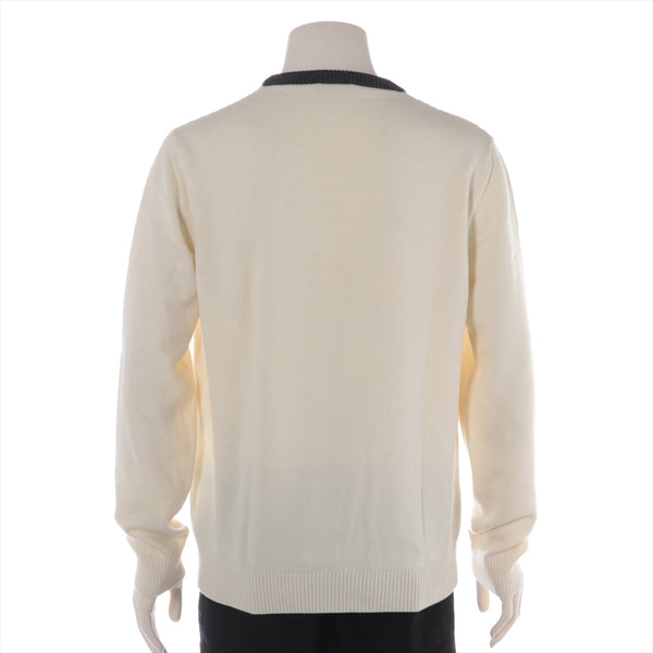 Fendi Wool Knit 50 Men's Ivory Monster|RANK:AB
