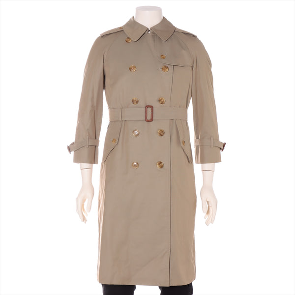 Burberry Wool Trench Coat Size Unknown Men's Beige With Liner
