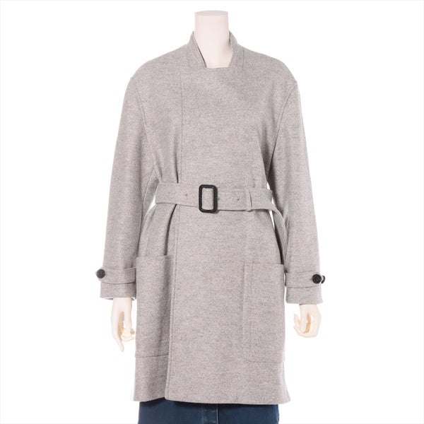 Burberry Wool Coat UK4 Ladies Gray
