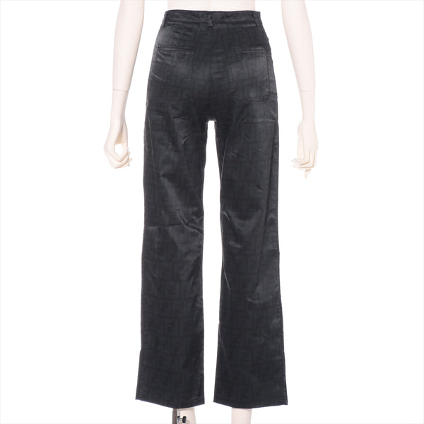 Fendi Zucca Nylon Pants I 40 Ladies Black|RANK:AB