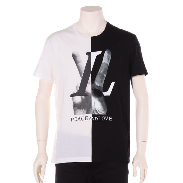 Louis Vuitton RM182 Cotton T-shirt XS Men's Black x White