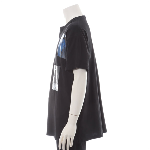Raf Simons 19AW Cotton T-shirt S Men's Black BLUE VELVET